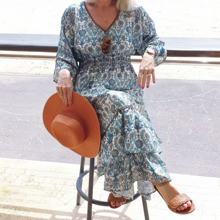 Boho maxi dress, in the post How to Look Stylish - Style Advice, Simple Fashion Tips