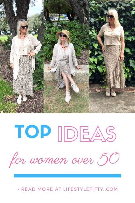 Outfit inspiration for women over 50