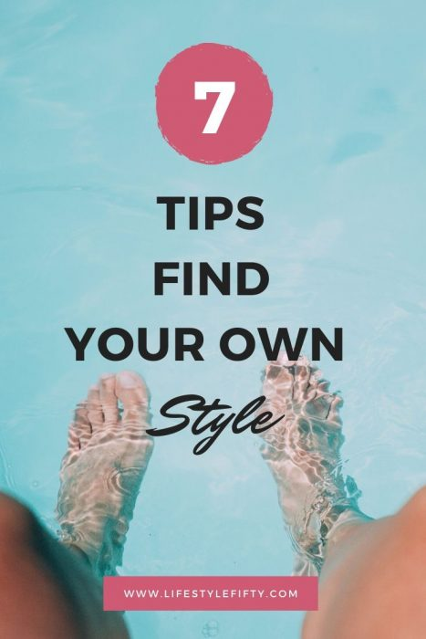 Your Style Journey - 7 Tips - Infographic