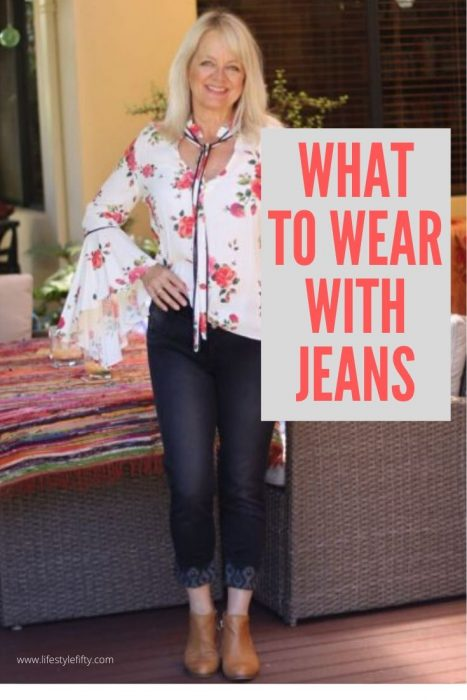 What to wear with jeans when you're over 50