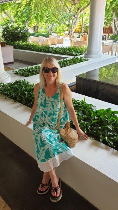 Tropical Holiday Dress Bali