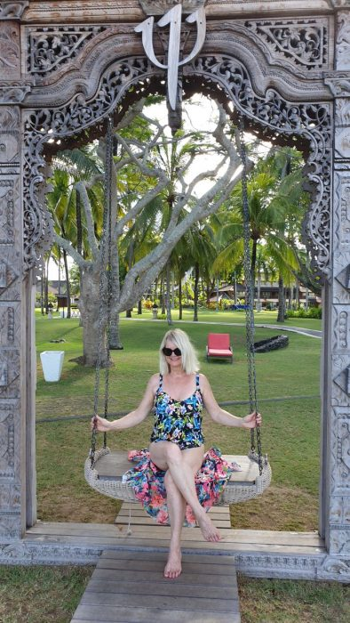 What to pack for Bali - woman in swimsuit