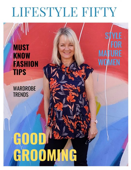 Lifestyle Fifty, wardrobe and fashion tips for women over 45