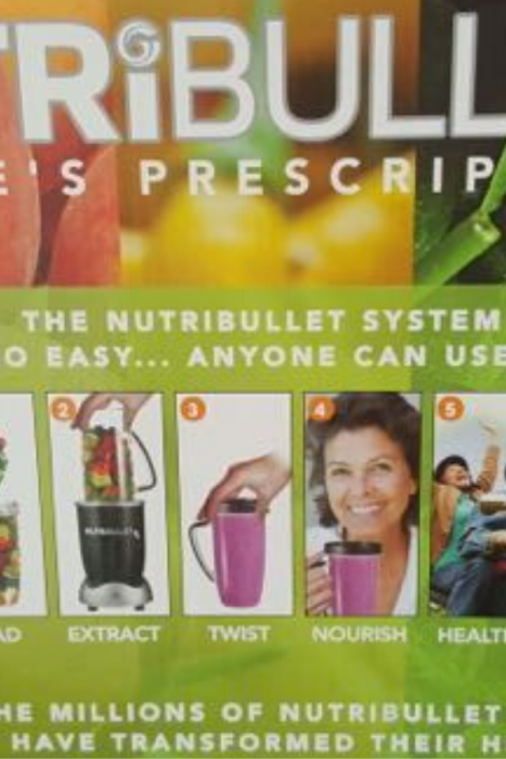 Healthy lifestyle, lifestyle appliances, nutribullet