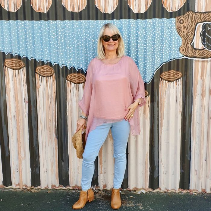 Are skinny jeans only for young women?