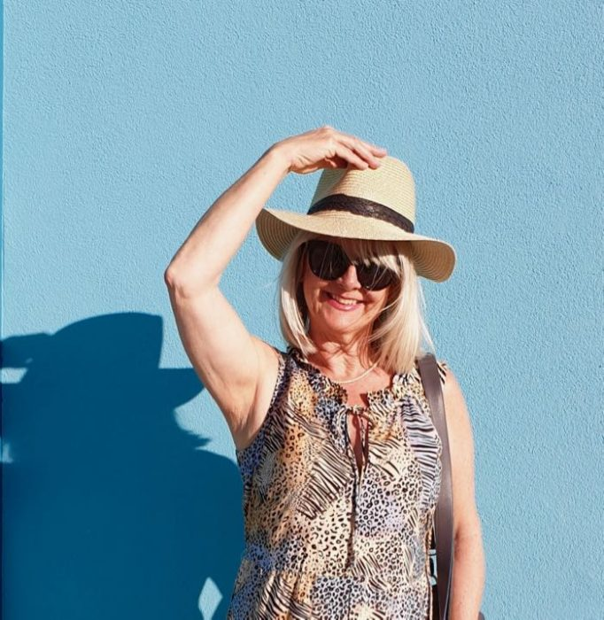 Girl in hat - what to pack for Bali
