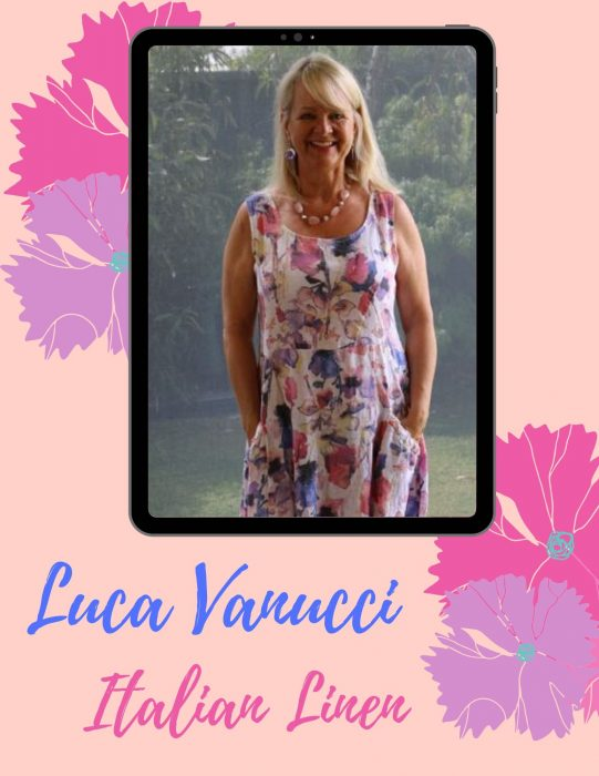 Summer dress - Luca Vanucci - Italian linen