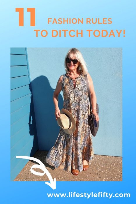 Fashion Rules to ditch right now