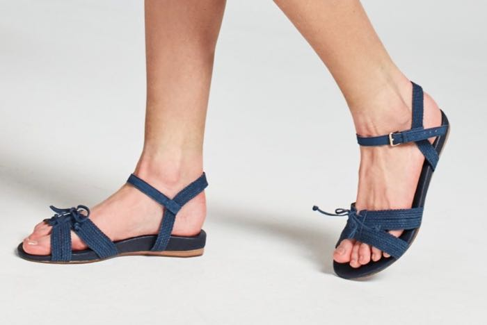 What to pack for Bali - Navy Jay Sandals - FRANKiE4 Footwear