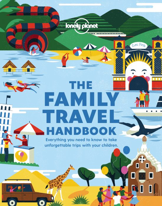 Family Travel Handbook - Lonely Planet - book cover