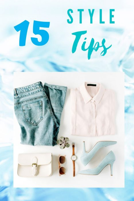 15 Personal Style Tips graphic