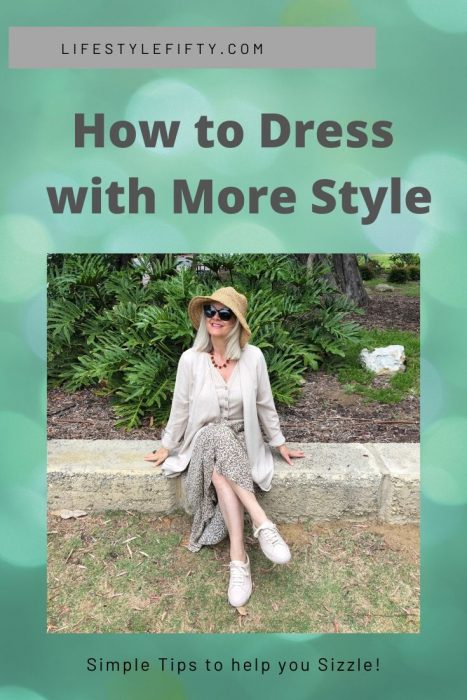 Dress younger than your age - How to dress with more style - photo of trendy woman