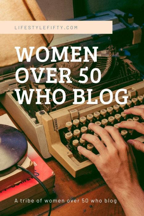 Women over 50 who Blog