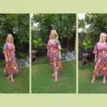 Summer Dresses : Adrift Cherry Blossom Dress