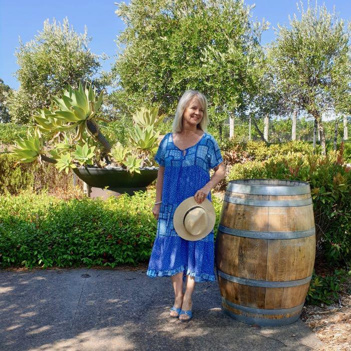 Adrift Boho Blue Dress - Comfortable Clothes