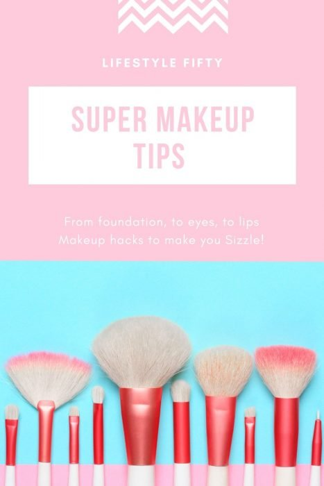 Makeup brushes from the post Super Makeup Tips