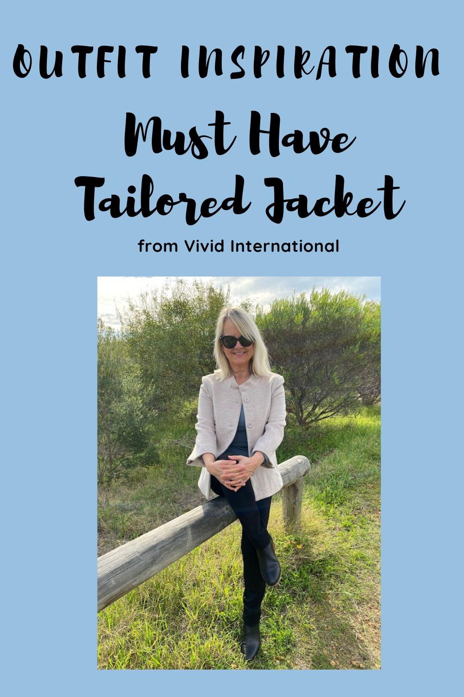 Hazelnut Tailored jacket