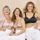 Best comfy bras, women wearing bras