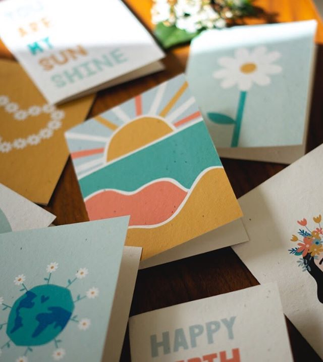 Enviromentally friendly cards