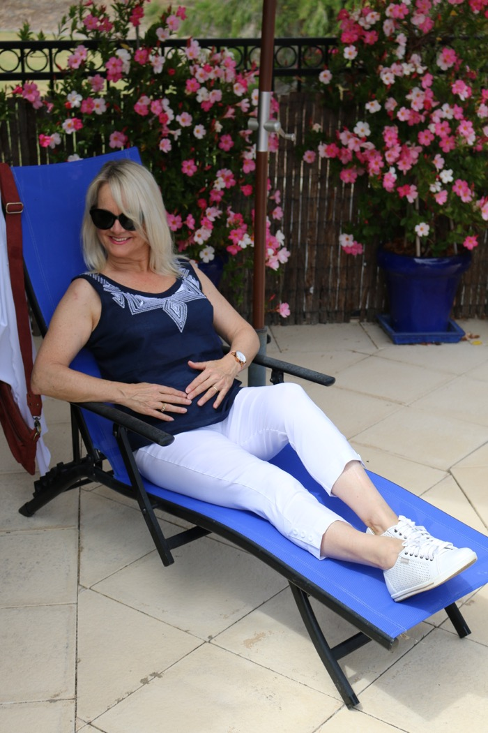 fifty-plus-woman-on-lounger